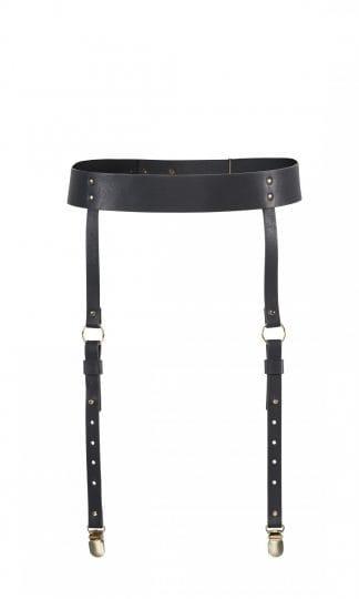 Bijoux Indiscrets - MAZE Suspender Belt Black