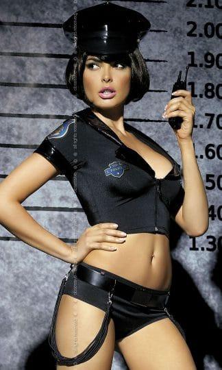 Police set kostium 5-częściowy