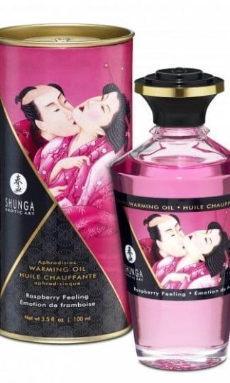 Shunga - Aphrodisiac Oil Raspberry Feeling 100 ml