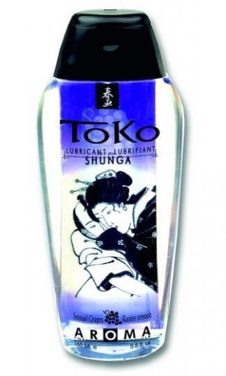 Shunga - Toko Lubricant Sensual Grape 165 ml