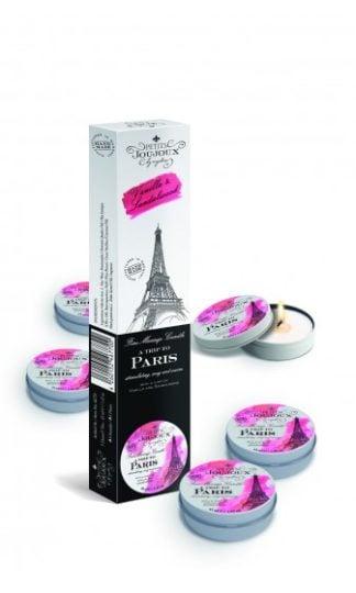 Petits Joujoux Fine Massage Candles - A trip to Paris (5 x 33 g)